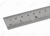 Main thumb 103085150 steel rule  e2 80 93 a plan view of a steel ruler showing metric and imperial measurements isolated on a whi