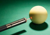 Main thumb laser pool cue1