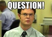 Main thumb dwight schrute question